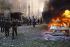 War in the Lebanon. Attempt against the leader Druze Walid Joumblatt. Beirut, December 1-st, 1983. FDM-1358-6 © Françoise Demulder / Roger-Viollet