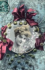Young woman. Fancy postcard. France, circa 1905. © Roger-Viollet
