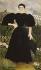 """Henri Rousseau dit Le Douanier (1844-1910). """"Portrait de Madame M."""". Huile sur toile, 1897. Paris, musée d'Orsay.  © Iberfoto / Roger-Viollet"""