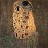 """Gustav Klimt (1862-1918). """"Le Baiser"""", 1907. Vienne (Autriche), Österreichische Galerie Belvedere. © Imagno/Roger-Viollet"""