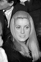 Catherine Deneuve (born in 1943), French actress. Paris, 1968. © Noa / Roger-Viollet