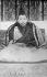 Ngawang Lobzang Thubten Gyatso (1876-1933), élu dalaï-lama en 1893. Lhassa (Tibet), 1910. Photo : Charles Alfred Bell.    © Albert Harlingue / Roger-Viollet