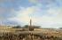 """François Dubois (1790-1871). """"Erection de l'obélisque de Louqsor (Louxor) sur la place de la Concorde, le 25 octobre 1836"""". Huile sur toile. Paris, musée Carnavalet.   © Musée Carnavalet / Roger-Viollet"""