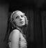 """Madeleine Ozeray (1910-1989), Belgian actress, rehearsing """"La Guerre de Troie n'aura pas lieu"""", play by Jean Giraudoux. Paris, Théâtre de l'Athénée, 1937. © Gaston Paris / Roger-Viollet"""