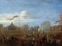 """""""L'arrivée de la reine Victoria et du prince Albert à la gare de l'Est, le 18 août 1855"""". Paris, musée Carnavalet.  © Musée Carnavalet/Roger-Viollet"""