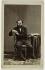 Charles Gounod (1818-1893), French composer. Visiting card (recto), 1860 - early 1890. Photograph by André Adolphe Eugène Disdéri (1819-1889). Paris, musée Carnavalet. © Disdéri / Musée Carnavalet / Roger-Viollet