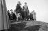 Guerre 1939-1945. Pietro Badoglio (1871-1956), maréchal et homme politique italien, et le roi Victor-Emmanuel III d'Italie (1869-1947). © Alinari / Roger-Viollet