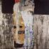 """Gustav Klimt (1862-1918). """"Les trois âges de la femme"""". Huile sur toile, 1915. Rome (Italie), Galerie nationale d'art moderne. © Iberfoto / Roger-Viollet"""