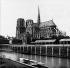 Perspective of Notre Dame de Paris Cathedral, after the restorations made by Viollet-le-Duc. Paris, circa 1865-1867. © Léon et Lévy/Roger-Viollet