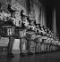 Répétitions aux Folies-Bergère. Paris, 1937. © Gaston Paris / Roger-Viollet