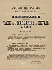 """Préfecture de Police. Ordonnance. """"Taxe de la margarine au détail à Paris"""". Affiche typographique. 1916. Bibliothèque historique de la Ville de Paris. © BHVP / Roger-Viollet"""
