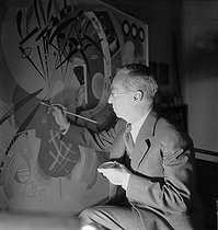 December 13, 1944 (75 years ago) : Death of Vassily Kandinsky (1866-1944), Russian-born French painter and engraver