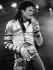 Michael Jackson (1958-2009), chanteur américain, lors d'un concert. Berlin (Allemagne), juin 1988. © Ullstein Bild / Roger-Viollet