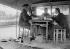 Lunch of bargemen. Paris, about 1910. © Albert Harlingue/Roger-Viollet