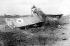 Guerre 1914-1918. Avion de chasse qui pourrait avoir été abattu par Manfred von Richthofen (1892-1918), aviateur allemand. © TopFoto/Roger-Viollet