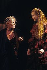 """La Celestina"" by Fernando de Rojas. Direction by Antoine Vitez. Stage design and costumes by Yannis Kokkos. Jeanne Moreau and Valérie Dréville. Avignon festival (France), July 1989. © Colette Masson / Roger-Viollet"