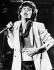 Mick Jagger (né en 1943), chanteur et musicien anglais, lors d'un concert des Rolling Stones, 16 octobre 1978. © TopFoto / Roger-Viollet