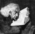 Theodor Mommsen (1817-1903), historien et juriste allemand. Gravure de Jacoby, 1901. © Ullstein Bild / Roger-Viollet