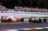 Grand Prix d'Allemagne. Coude à coude entre Alain Prost, coureur automobile français, et Ayrton Senna, coureur automobile brésilien. 1993. © Ullstein Bild / Roger-Viollet