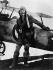 """La Patrouille de l'aube"" (The Dawn Patrol), film d'Edmund Goulding. Errol Flynn. Etats-Unis, 1938. © TopFoto / Roger-Viollet"