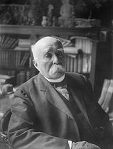 Georges Clemenceau (1841-1929), French politician. © Pierre Choumoff / Roger-Viollet