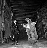 """""""Ruy Blas"""", play by Victor Hugo. Jean Piat and Gérard Oury. Paris, Théâte de la Comédie-Française, November 1960. © Studio Lipnitzki / Roger-Viollet"""