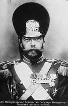 Tsar Nicholas II of Russia (1868-1918). © Maurice-Louis Branger/Roger-Viollet