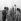 Prince Philip (né en 1921, deuxième à gauche), duc d'Edimbourg, lors de la finale des championnats de chute libre de l'armée. Netheravon (Angleterre), 15 mai 1965. © PA Archive/Roger-Viollet