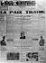 """Page du """"Réveil des Combattants"""", journal de l'ARAC, protestant contre Munich. 1938. © LAPI/Roger-Viollet"""