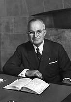 Harry S. Truman (1884-1972), American statesman. President of the United States from 1945 to 1953. © US National Archives/Roger-Viollet