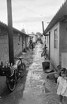 Portuguese community in a shanty town. Champigny-sur-Marne (France), 1964. © Georges Azenstarck / Roger-Viollet