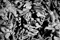 World War II. Shoes in Auschwitz concentration camp.  © Roger-Viollet