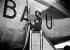 Jacqueline Auriol (1917-2000), aviatrice française, baptisant un Bréguet-Deux-Ponts d'Air France. Orly (Val-de-Marne), 15 décembre 1953. © Roger-Viollet