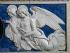 "Attribué à Andrea della Robbia (1435-1525). ""Deux anges"". Terre cuite vernie, 1460-1525. Montevarchi (Italie), collegiata di San Lorenzo. © Alinari/Roger-Viollet"