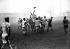 Rugby match between the Stade Français and Aviron bayonnais, Jean-Bouin stadium, Paris, January 1943. © LAPI/Roger-Viollet
