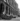 World War II. Liberation of Paris. Burnt-out cars, place de la Concorde, on August 25, 1944. © Pierre Jahan/Roger-Viollet