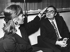Stéphane Audran (1932-2018), actrice française, et son époux Claude Chabrol (1930-2010), réalisateur français, 1968. Photographie de Harry Croner (1903-1992). © Harry Croner / Ullstein Bild / Roger-Viollet