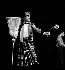 Fernand Raynaud (1926-1973), comédien et humoriste français. Paris, théâtre de l'Etoile, décembre 1961. © Studio Lipnitzki / Roger-Viollet
