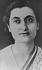 Indira Gandhi (1917-1984), femme politique indienne. Vers 1955. © Ullstein Bild/Roger-Viollet