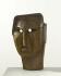 """Ossip Zadkine (1890-1967). """"Masque"""". Bois de buis, vers 1924. Paris, musée Zadkine. © F. Cochennec, E. Emo / Musée Zadkine / Roger-Viollet"""
