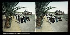 The Promenade des Anglais and the pier. Nice (France), circa 1890-1895. Stereoscopic view. © Léon et Lévy / Roger-Viollet