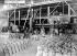 Polish immigration in France. Polish workers in a grinding workshop of Thomas phosphate-enriched scoria. North of France, 1922. © Albert Harlingue / Roger-Viollet