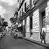 La Havane (Cuba). Quartier des boîtes de nuit, donnant sur le Prado. Mars 1959. © Roger-Viollet