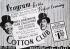Affiche pour le Cotton Club, ancienne salle de concert, club de jazz et dancing situé dans le quartier de Harlem. Concert de Bill Robinson et Cab Calloway. New York (Etats-Unis), 1938. © TopFoto / Roger-Viollet