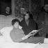 """Un couple"", film de Jean-Pierre Mocky (1929-2019). Nadine Basile et Juliette Mayniel. France, 8 mars 1960. © Alain Adler / Roger-Viollet"