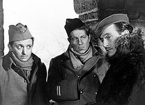 """La Grande illusion"", film by Jean Renoir. Marcel Dalio, Jean Gabin and Pierre Fresnay. France, 1937. © Roger-Viollet"