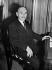 Jean Monnet (1888-1979), French economist and diplomat, 1947. © Roger-Viollet