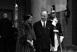 Indira Gandhi (1917-1984), femme politique indienne, à l'Elysée. Paris, mars 1966. © Roger-Viollet