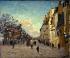 Armand Guillaumin (1841-1927). The place Valhubert in Paris, 1880. Paris, musée d'Orsay. © Roger-Viollet