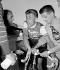 Jacques Anquetil (1934-1987), coureur cycliste français, vainqueur du Grand Prix des Nations. 1959. © Roger-Viollet